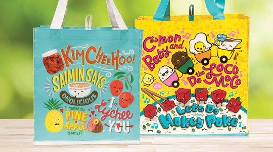 Foodland Reusable Shopping Bags