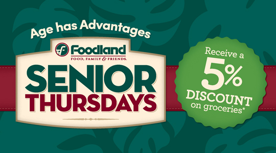 Senior Thursdays 5 Percent Advantages