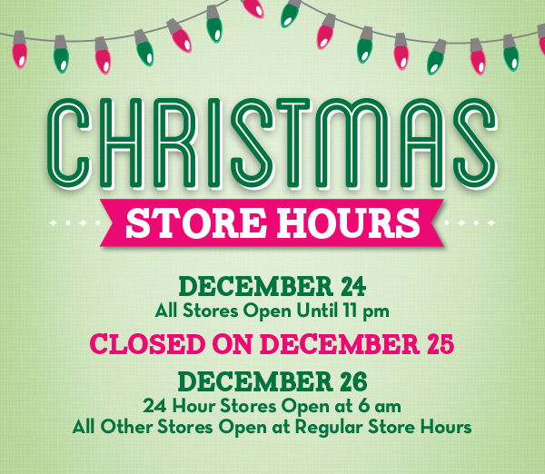 merry christmas from all of us at foodland - Christmas Eve Store Hours