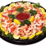 Cooked Shrimp Platter