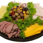 Assorted Meat & Cheese Platter