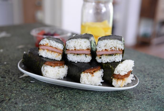 Spam Musubi Foodland