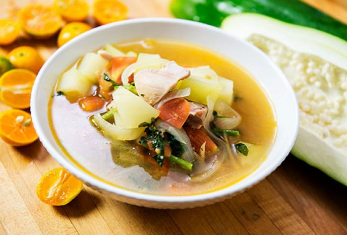 Green Papaya Chicken Soup With Ginger Foodland