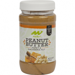 Maika'i Peanut Butter, Honey Macadamia Nut (Creamy)