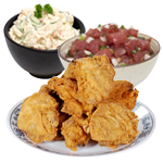 Fried Chicken Thighs Family Meals