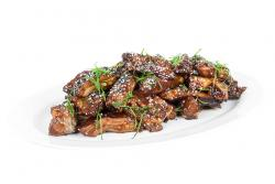 Braised Rib Tips with Black Pepper Hoisin Sauce